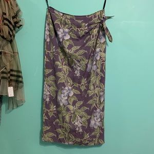 Tommy Bahama wrap skirt